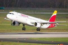 Iberia Airbus A321 Stock Image