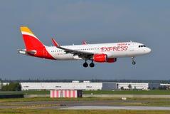 Iberia Airbus expreso A320 Foto de archivo