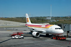 Iberia Airlines Royalty Free Stock Photos
