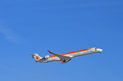 Iberia Airlines- Alicante Airport Royalty Free Stock Image