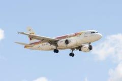 IBERIA company's plane Stock Images
