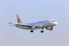 Iberia Express jet Stock Photos
