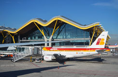 Iberia flights cancelled during pilot Union strike Royalty Free Stock Photography