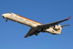 Iberia Regional. Air Nostrum, Líneas Aéreas del Mediterráneo, aka Iberia Regional, offeres regional connections for Iberia network Royalty Free Stock Photos