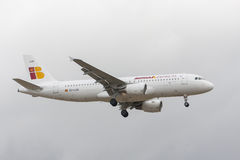 IBERIA's plane Royalty Free Stock Photo