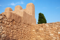 Iberian Citadel of Calafel Royalty Free Stock Photography