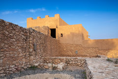 Iberian Citadel of Calafell, ancient fortress Stock Image