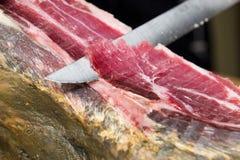 Iberian ham Stock Image