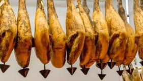 Iberian ham Stock Images
