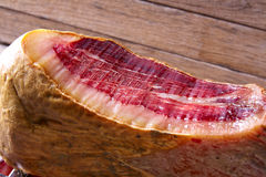 Iberian ham pata negra from Spain Royalty Free Stock Images