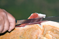 Iberian ham Royalty Free Stock Image