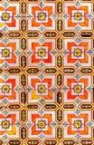 Iberian Moorish Style  Pattern Stock Photo