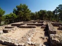 Iberic ruins Stock Photography