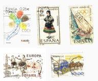 Iberische zegelsachtergrond Royalty-vrije Stock Afbeeldingen