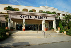 Iberostar Creta Marine. A 4 stars hotel in Crete (Panormo Royalty Free Stock Images