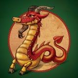 ibex дракона Стоковое Изображение RF