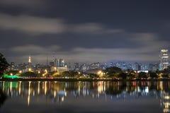 Ibirapuera公园 图库摄影