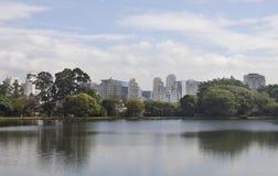 Ibirapuera park Fotografia Stock