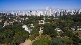 Ibirapuera Park, Sao-Paulo Stockbilder