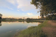 Ibirapuera park, Sao Paulo Royalty Free Stock Image