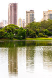 Ibirapuera Park in Sao Paulo Stock Photo
