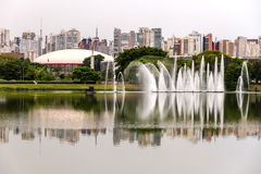 Ibirapuera Park in Sao Paulo Royalty Free Stock Images