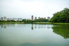 Ibirapuera Park in Sao Paulo Stock Photography