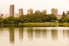 Ibirapuera Park in Sao Paulo Royalty Free Stock Photo