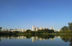 Ibirapuera Park, Sao Paulo, Brazil Royalty Free Stock Photography