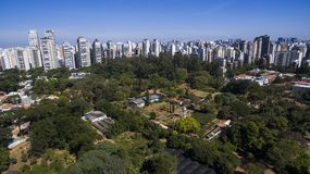 Ibirapuera Park, Sao Paulo. South America, Brazil royalty free stock photos