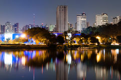 Ibirapuera Park - Sao Paulo Stock Photo