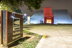 Ibirapuera salong Arkivbild