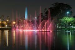 Ibirapuerapark, Sao Paulo, Brazilië Royalty-vrije Stock Fotografie