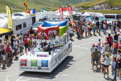Ibis Budget Hotels Truck - Tour de France 2015 Stock Photography