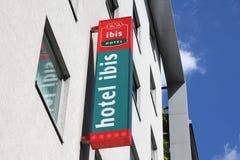 IBIS-Hotel Lizenzfreies Stockbild