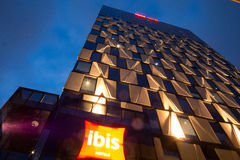 Ibis Hotel in Adelaide, South Australia Stock Images
