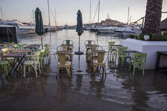 Ibiza έξω από τον καφέ Στοκ φωτογραφία με δικαίωμα ελεύθερης χρήσης