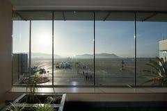 Ibiza airport terminal Royalty Free Stock Image