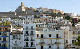 Ibiza from balearic islands in Spain Royalty Free Stock Photo