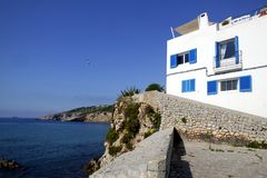 Ibiza from balearic islands in Spain Royalty Free Stock Image