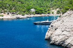 Ibiza  Balearic Islands at Spain Stock Images