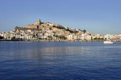 Ibiza Balearic Mediterranean white island in Spain Stock Photography