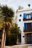 Ibiza Balearic Spain old town royalty free stock photo