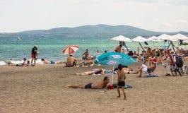 Ibiza Beach in Burgas, Bulgaria Royalty Free Stock Image