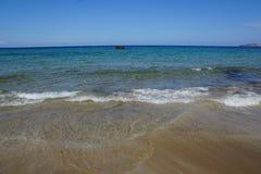 Ibiza beach Stock Image