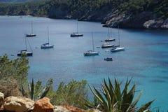 Ibiza beach Royalty Free Stock Photography