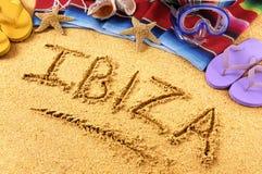 Ibiza beach Royalty Free Stock Image