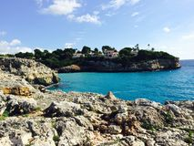 Ibiza blue beach Majorque. Tourisme nature ibiza Stock Image
