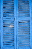 Ibiza blue window Royalty Free Stock Image