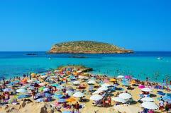 Ibiza Cala Comte Stock Afbeeldingen